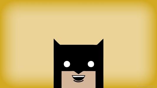 可爱的手绘蝙蝠侠