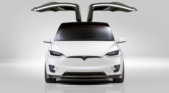特斯拉Model X宽屏壁纸