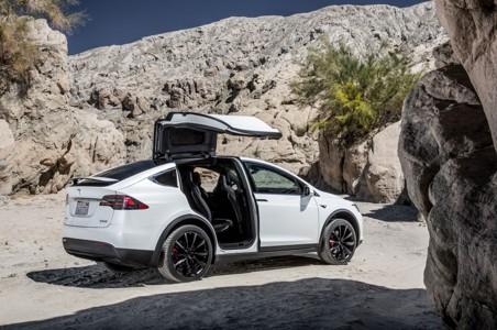 特斯拉Model X高清壁纸