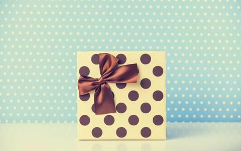 可爱的圣诞蝴蝶结壁纸