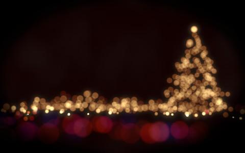 美好的圣诞壁纸