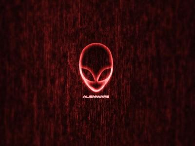 红色的Alienware壁纸