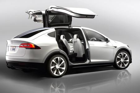 特斯拉Model X车门壁纸