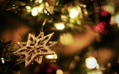 奇妙的圣诞树壁纸