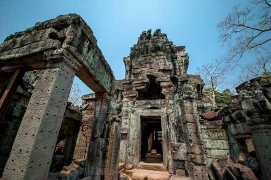 柬埔寨吴哥窟建筑光景图片
