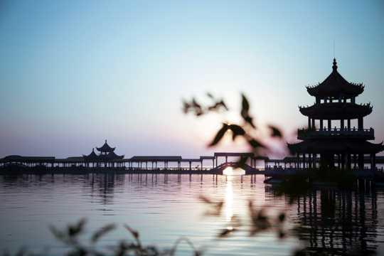 江苏无锡太湖唯美风景图片