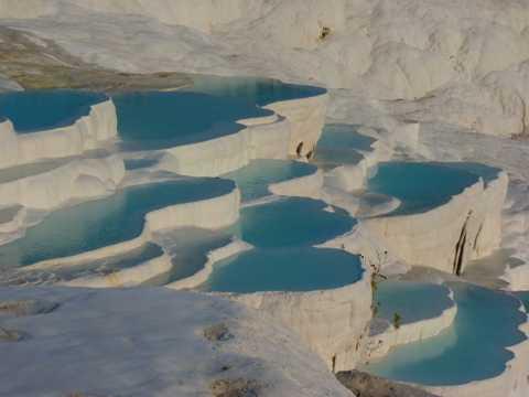 棉花堡温泉图片
