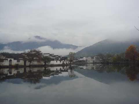 安徽宏村景象