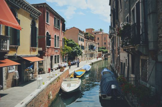 意大利威尼斯水城建筑景致图片