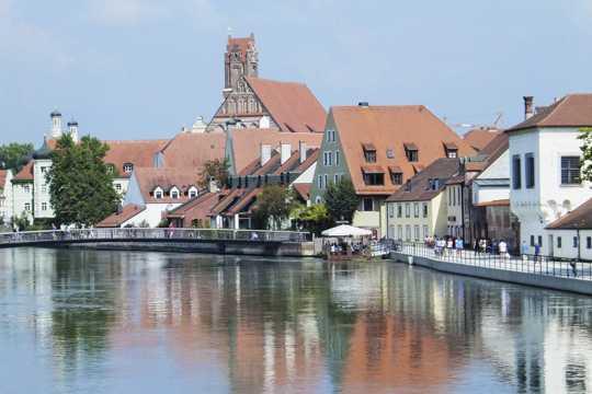 德国拜恩兰茨胡特建筑光景图片