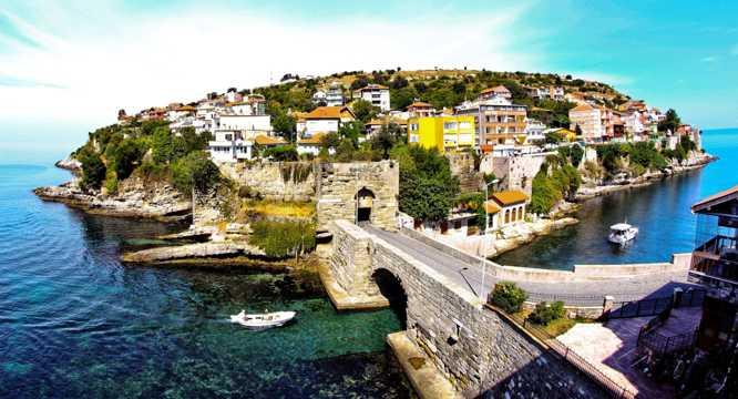 土耳其的海岛景色图片