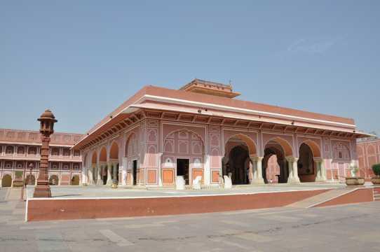 印度都市宫殿图片