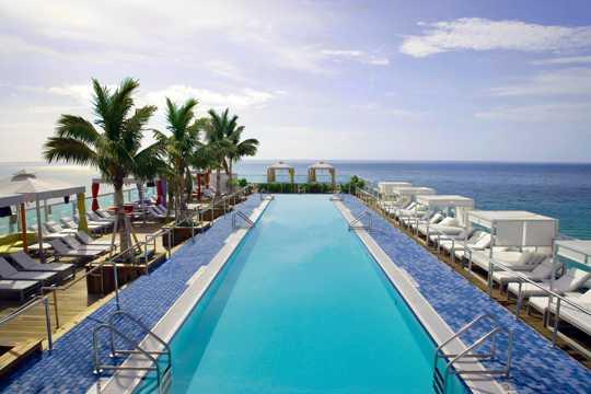 迈阿密沙滩美景图片
