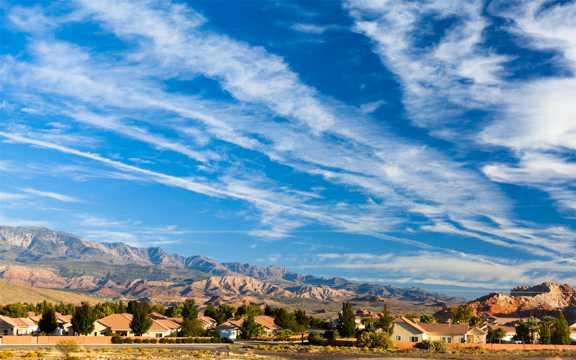 美国科罗拉多河岸景致图片