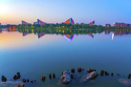 广东东莞松山湖景象图片