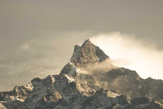 大自然雪山自然风光图片