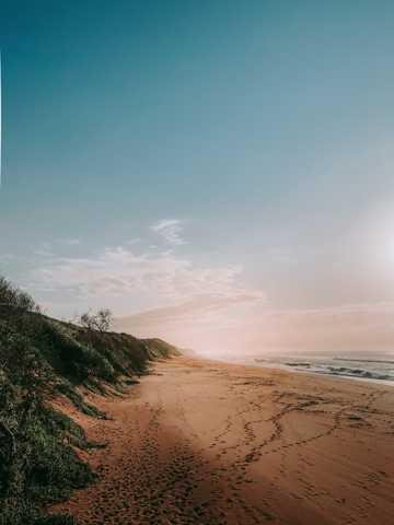 海滨境界唯美图片