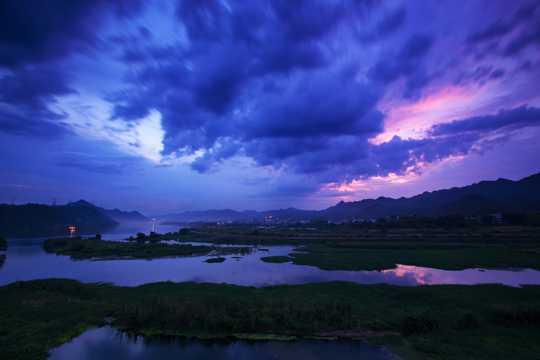 浙江下涯自然风光图片