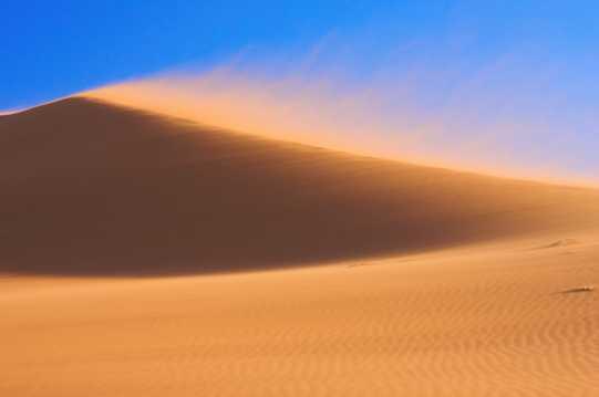 荒芜沙漠风光