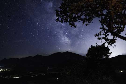 满天星光的图片