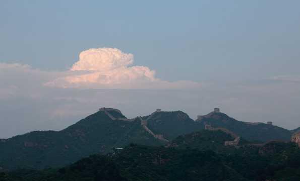 北京金山峰长城景物图片