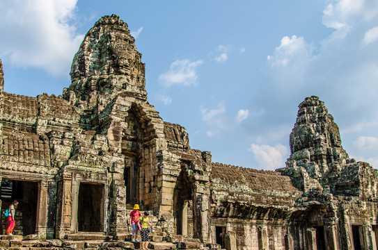 柬埔寨吴哥遗迹景致图片
