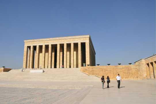土耳其安塔利亚考古博物馆景致图片