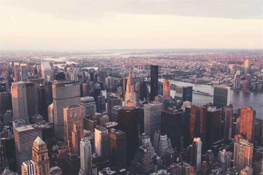 纽约的摩天大厦