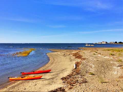 海洋沙滩景色图片