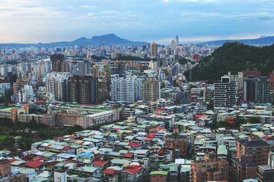 台湾台北市景象图片