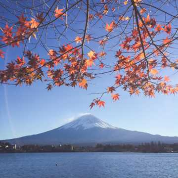 日本富士山景致高清图片