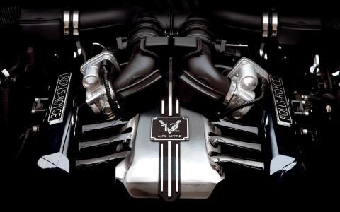 劳斯莱斯幻影6.75升V12发动机
