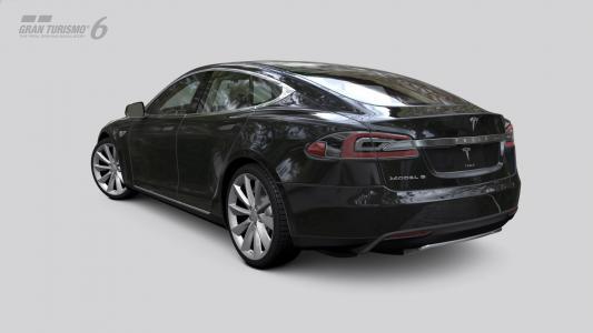 特斯拉Model S  -  Gran Turismo 6