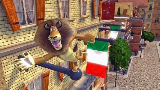 亚历山大 - 马达加斯加3:欧洲最受欢迎