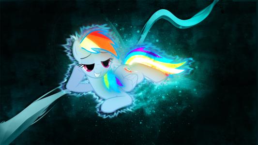 彩虹短跑 - 我的小马驹