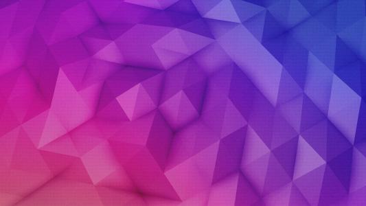 多彩的金字塔网格