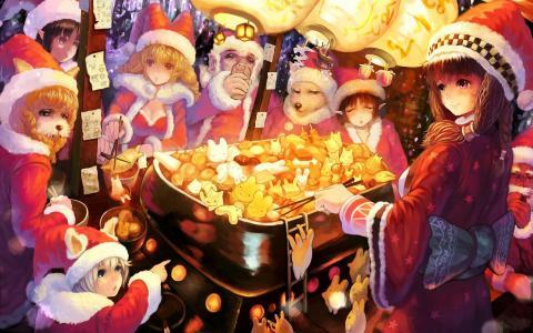 动漫圣诞节