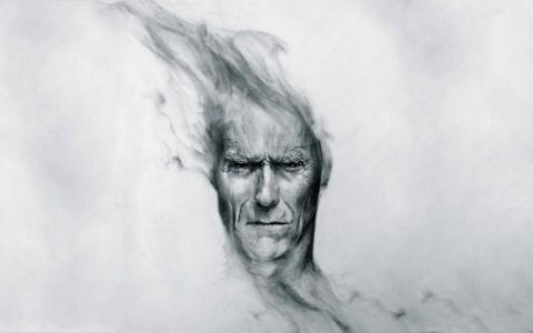 克林特·伊斯特伍德绘图