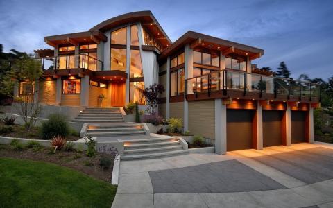房子的建筑