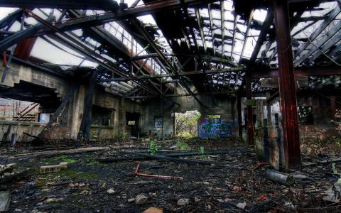 被遗弃的工厂