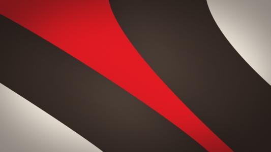 红色和棕色的条纹