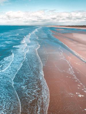 景色宜人的海边美景