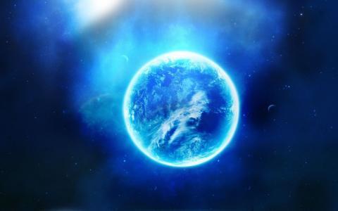蓝色的星球