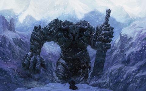 法师反对巨人战士
