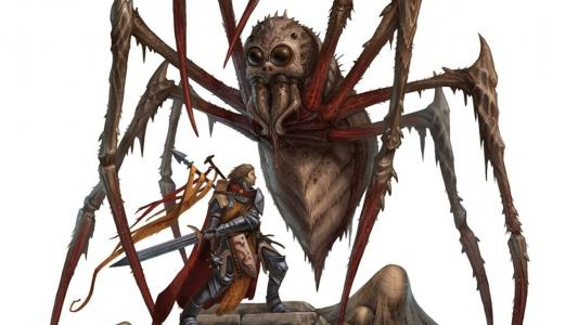 杀死巨型蜘蛛