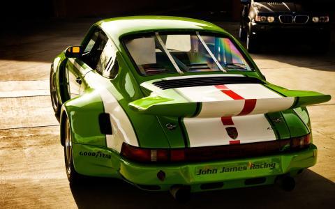 约翰·詹姆斯赛车保时捷911 GT3 RSR