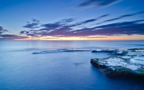 蓝色的海洋