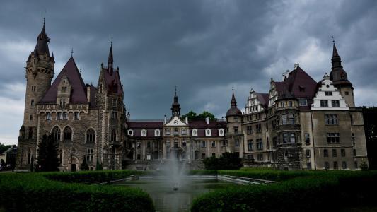 Moszna城堡