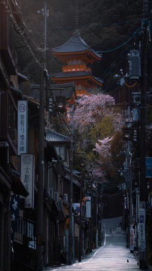 唯美的京都街道