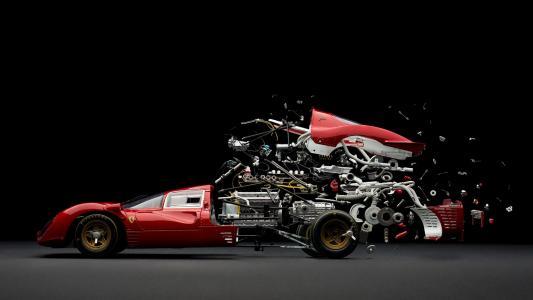 法拉利赛车